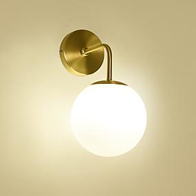 billige Innendørsbelysning-feimiao Nytt Design Moderne / Nordisk stil Vegglamper Stue / Soverom Kobber Vegglampe 110-120V / 220-240V 40 W