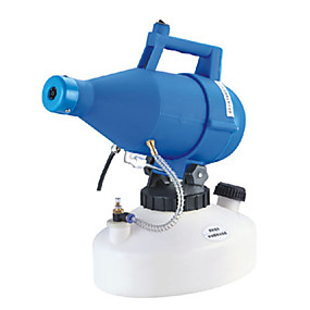 cheap Disinfection & Sterilizer-4.5L 220V Electric ULV Fogger Sprayer Farming Office Industrial Mosquito Killer Portable Electric Ultra-low Capacity Atomizer Mist Insecticide Disinfection Anti-epidemic Atomizer Aerosol Atomizer