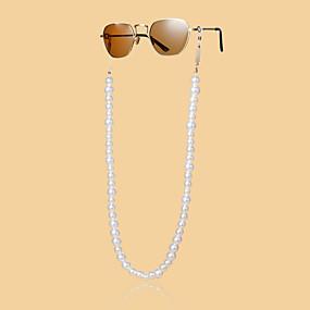 cheap Accessories-Beaded Eyewear Eyewear Accessories Set For Holiday Street Accent / Decorative Golden 1 Piece / Women's