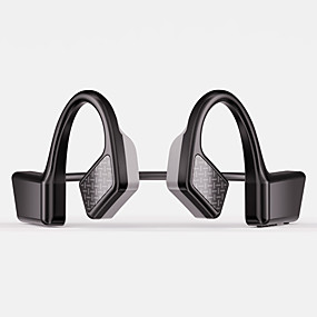cheap Sports Headphones-LITBest K08 Bone Conduction Headphone Wireless Bluetooth 5.0 Stereo with Microphone with Volume Control Waterproof IPX4 for Sport Fitness