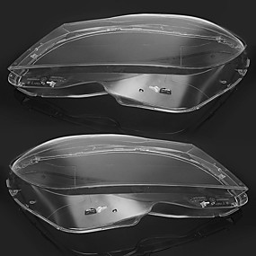 cheap Car Light Decoration-Pair Clear Car Headlight Lens Cover 4769886123 for Mercedes-Benz C-Class W204 Sedan Coupe 2011-2014