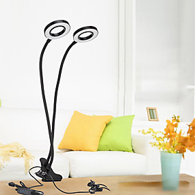 billige Lamper & Lampeskærme-Skrivebordslampe Øjenbeskyttelse / Swing Arm / Justerbar Moderne Moderne USB-drevet Til Soveværelse / Læseværelse / Kontor Aluminium DC 5V