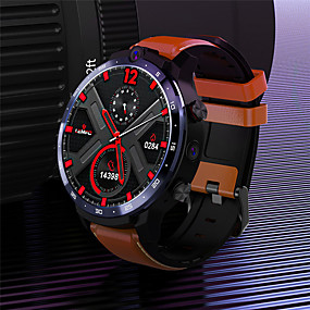 cheap Smart Watches-LEMFO LEM12 Unisex Smartwatch Bluetooth Waterproof Touch Screen Heart Rate Monitor Video Health Care ECG+PPG Timer Pedometer Sedentary Reminder Alarm Clock