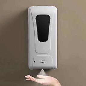 billige Soap Dispensers-berøringsfri automatisk håndrenser dispensormaskine med højt volumen 1000 ml DC opladet