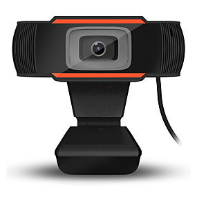 cheap Other Household Appliances-USB HD Webcam Digital Video Web Cam Camera Microphone Clip Manual Adjustable Webcam for Computer PC Laptop Desktop