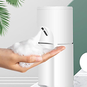 cheap Soap Dispensers-250ml Automatic Induction Waterproof Foam Liquid Dispenser Sensor Touchless Hand Washer Soap Dispenser Pump Usb Charging