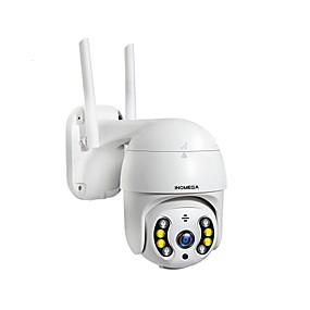 abordables Caméras IP-Inqmega 1080p ptz caméra sans fil ip extérieure étanche 4x zoom numérique dôme de vitesse 1 pouce mini wifi sécurité caméra de surveillance iscee