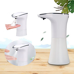 cheap Soap Dispensers-New 350Ml Automatic Induction Alcohol-Disinfection Sensor Non-Contact Foam Hand Wash Disinfection Sprayer Machine for Home Hotel USB Charging