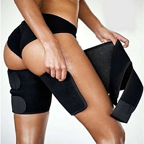 cheap Home Automation & Entertainment-2pcs Leg Shaper Slimming Sauna Thigh Trimmers Warmer Slender Slimming Wraps Legs Thermo Neoprene Compress Belt Shaper Panty