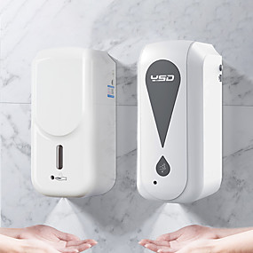 voordelige Soap Dispensers-touchless automatische handdesinfecterend dispenser machine hoog volume 1000ml automatische inductie sterilisatie machine, touchless wandgemonteerde dispenser