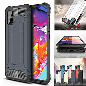 cheap Samsung Case-For Samsung Galaxy A71 5G /A31/ A11/ A70E / A21 / A01 / A51 /A71 / A81 / A91 /Case Cover Fundas Rubber Armor Protective Phone Case For Samsung A50S / A30S /A20S /A10S /S10 Lite Cover