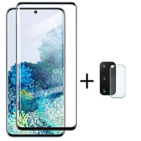 cheap Screen Protectors-Glass Screen Protector  Lens Protective Film for Samsung Galaxy S20 S20 Plus S20 Ultra S10 S10 Plus S10E
