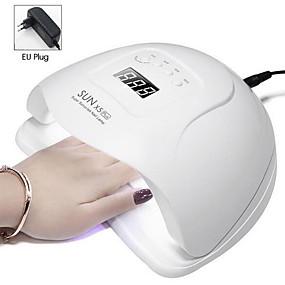 economico Casa intelligente-sun 5x plus lampada led uv per asciuga unghie lampada da ghiaccio 80w per gel per manicure lampada per asciugare le unghie lampada per smalto gel