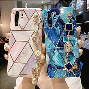 cheap Samsung Case-Samsung S20Ultra Stitching Geometric Marble Phone Case Note10Plus Stylish Luxury Rhinestone Wristband Bracelet S10E Protective Case