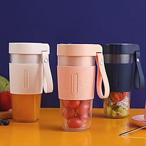 povoljno Sokovnici-prijenosni mini sokovnik višenamjenski USB punjenje sokovnik čaša električni čaj za miješanje čaša ručni smoothie maker 1 blende blender 350ml