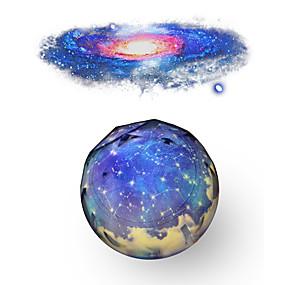 billige Projektorlys-jordform nebula projektor himmel projektor lys fargeendring kreativ unik nattlampe hjem dekorasjon kreativ gave 220-240 v