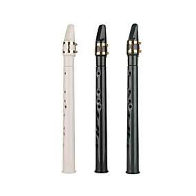 cheap Wind Instruments-Mini, Portable Saxephone 9 Holes Straight LittleSax Alto Saxophone C - ABS Professional Wind Instruments for Beginner Performers and Enthusiast