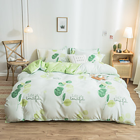 cheap Floral Duvet Covers-4pcs modern bedding set Super king size bed linens reactive printing duvet cover set geometry simple style home bed set flat sheet