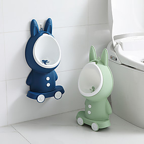 cheap Bathroom Gadgets-Rabbit Shape Children's Toilet Urinal Wall-mounted Urinal For Boys Height Adjustable Standing Urinal For Boys And Babies