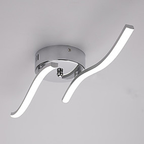 cheap Ceiling Lights & Fans-Two Wave Led Lighting Living Room Simple Modern Living Room Ceiling Light 12W