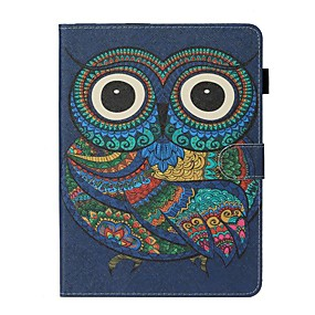 cheap iPad case-Case For Apple iPad New Air 10.5 / iPad Mini 3/2/1/4/5 Card Holder / with Stand / Flip Full Body Cases Animal PU Leather For iPad 10.2 2019/Pro 11 2020/Pro 9.7/2017/2018