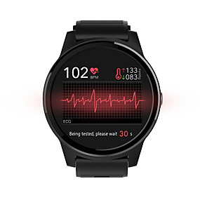 cheap Smart Watches-NORTH EDGE KEEP E101 Unisex Smartwatch Android iOS Bluetooth Waterproof Heart Rate Monitor Calories Burned Long Standby Information ECG+PPG Stopwatch Pedometer Call Reminder Activity Tracker