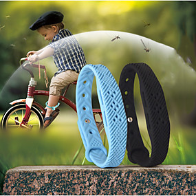 cheap Mosquito Repellent-2pcs Mosquito Repellent Bracelets Mosquito Repellent Wristbands Waterproof Portable Fashion Repellent Anti-Mosquito For Home For Office Indoor Outdoor Kid's Adults Kids Teenager Adults'