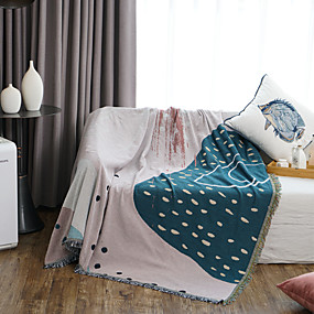 cheap Slipcovers-Soft Throw Blankets Bed Couch Throws Sofa Chair Towel Multi-Function for Home Decor Office Travel