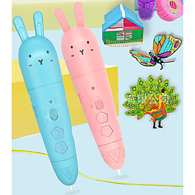 cheap Music, Art & Drawing Toys-Drawing Toy 3D Printing Pen Party Favors Creative Painting USB Charging Output Low Temperature Plastic Shell Child's Adults' Women's Boys and Girls Toy Gift