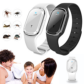 cheap Smart Home-Ultrasonic Natural Mosquito Repellent Bracelet Waterproof Capsule Pest Insect Bugs Anti Mosquito Insect Bands Outdoor Kids Adult