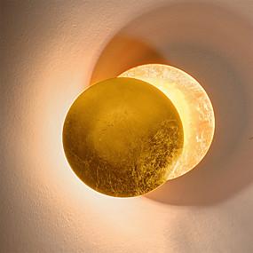 billige Innendørsbelysning-Kreativ / Nytt Design LED / Nordisk stil LED Vegglampe Stue / Soverom Metall Vegglampe 110-120V / 220-240V 12 W