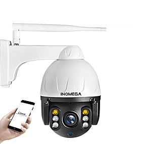 economico Telecamere di sorveglianza-inqmega cloud 1080p ptz telecamera ip wifi auto tracking 4x zoom digitale outdoor onvif impermeabile mini speed dome camera 2mp ir 30m p2p cctv telecamera di sicurezza
