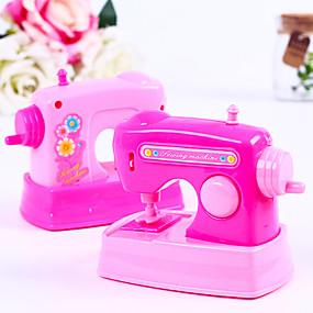 cheap Dress Up & Pretend Play-Pretend Play Plastics Sewing Machine Mini Novelty Electric Kid's All Gifts