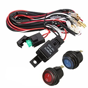 povoljno Others-40a 12v vodio lagani svjetlosni vod releja za prekidač kablova za džipove terenskih vozila atv