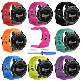 cheap Smartwatch Bands-Watch Band for SUUNTO Traverse Suunto Sport Band Silicone Wrist Strap