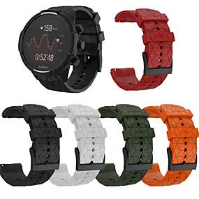cheap Smartwatch Bands-Watch Band for SUUNTO 9 / SUUNTO Spartan Sport / Suunto Spartan Sport Wrist HR Baro Suunto Sport Band Silicone Wrist Strap