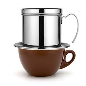 povoljno Aparati za kavu-francuska posuda za kavu nehrđajući čelik lonac za kavu vijetnamska kapaljka kapaljka filter kava lonac 304 nehrđajući čelik