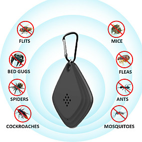 cheap Other Household Appliances-2 Pcs Ultrasonic Repeller Anti Mosquito Outdoor Insect Repeller Electronic Ultrasonic Repeller for Cockroach Control Pest and Mosquito Repeller