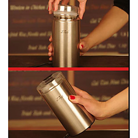 cheap Kitchen-Electric Coffee Grinder Household Grinder Stainless Steel EU Plug