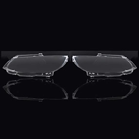 cheap Car Light Decoration-Clear Car Headlight Headlamp Lens Cover Pair for BMW E92 E93 Coupe Convertible M3 2006-2010