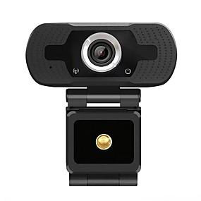baratos Câmeras de Rede IP de Interior-hd 1080p webcam mini computador pc webcamera com microfone câmeras rotativas para transmissão ao vivo chamada de vídeo conferência