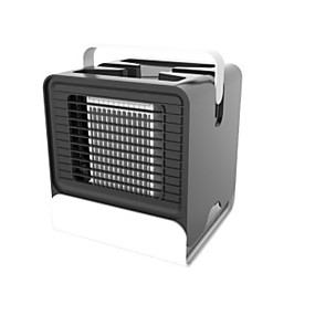 cheap Household Appliances-USB Rechargeable LED Personal Space Air Cooler Mini Air Conditioner Humidifier Home Office Appliance