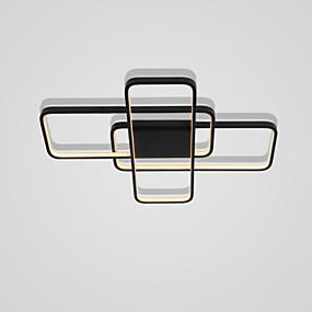 billige Takbelysning og vifter-73 cm geometriske former innfeltlys aluminiumsmalte finish 110-120v / 220-240v