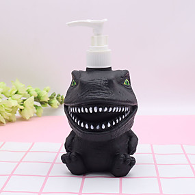 cheap Soap Dispensers-300ml Dinosaur Panda Cartoon Lotion Bottle  Shampoo Empty Lotion Container  Pressed Pump Bottle For Soap Shower Gel