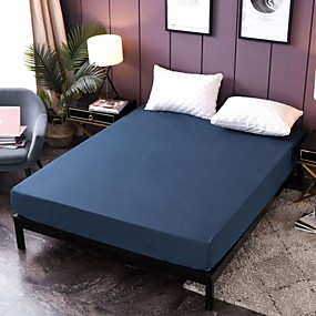 cheap Sheet Sets & Pillowcases-Premium Smooth Fabric Mattress Protector-100% Waterproof-Hypoallergenic(Only 1 Fitted Sheet)