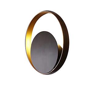 billige Innendørsbelysning-nordisk vegglampe kreativ stue lampe svart vegglampe enkel vegglampe sirkulær korridor camp soveromsbord