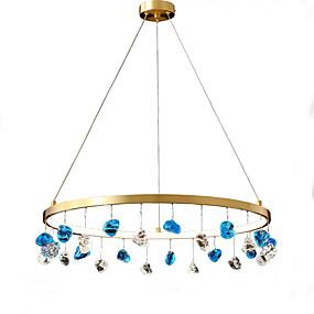 cheap Lantern Design-QIHengZhaoMing 60 cm Lantern Desgin Chandelier Metal Brass Modern 110-120V / 220-240V