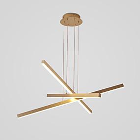 billige Klyngedesign-3-Light 80 cm Cluster Design Anheng Lys Aluminum Malte Finishes Natur-inspireret / LED 110-120V / 220-240V
