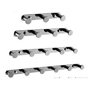 cheap Bathroom Gadgets-Modern Bathroom Punch-free Clothes Hook Stainless Steel Towel Hook Bathroom Coat Hook Wall Hook
