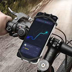 cheap Universal Accessories-Bicycle Phone Holder for IPhone 7 XS Max Samsung Xiaomi 9 Universal Motorcycle Mobile Phone Holder Bike Handlebar Stand Bracket